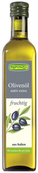 Rapunzel Olivenöl fruchtig, nativ extra 250 ml