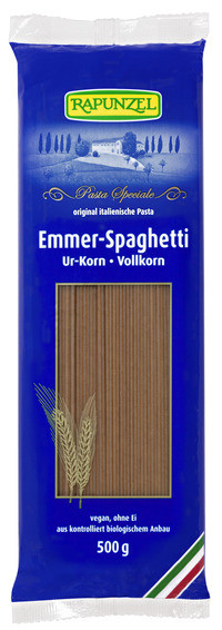 Rapunzel Emmer-Spaghetti Vollkorn