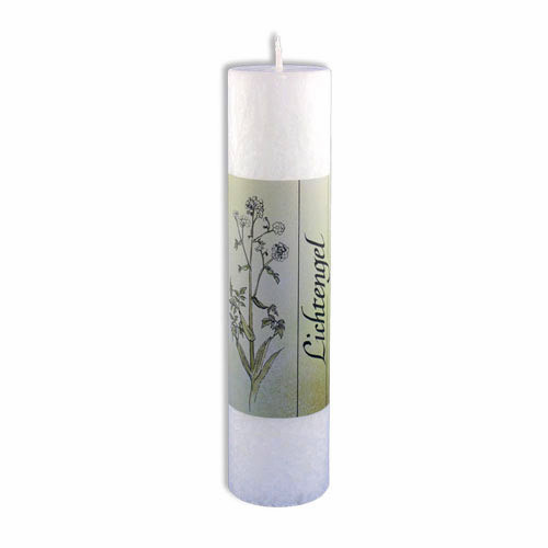 Allgaeuer Heilkraeuter-Kerze Lichtengel