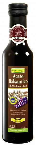 Aceto Balsamico di Modena I.G.P. (Speciale) 250 ml BIO