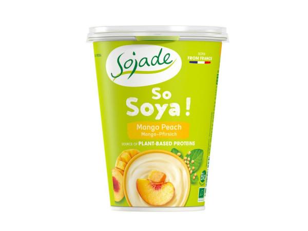 Sojade Sojajoghurt Mango Pfirsich 400g