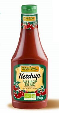 Ketchup mit Reissirup Quetschflasche 560 g