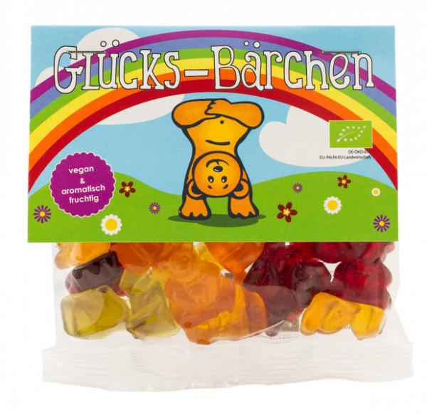 Glücks-Bärchen Regenbogen vegane Gummibärchen