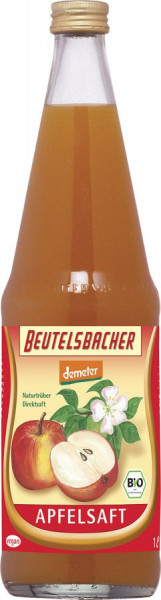 Beutelsbacher Apfelsaft naturtrüber Direktsaft demeter