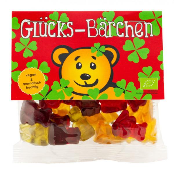 Glücks-Bärchen Kleeblatt vegane Gummibärchen