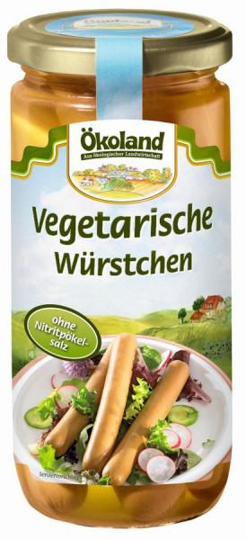 Ökoland Vegetarische Würstchen im Glas